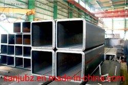 China-Lieferanten-Quadrat-Kohlenstoff-Gefäßgi-Quadrat-Rohr-Schwarzes getempertes Eisen-Quadrat-rechteckiges Gefäß