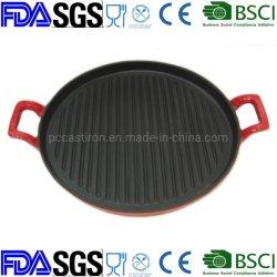 Pflanzenöl-Nonstick Roheisen-/Grill-Wanne/Drahtsieb Wanne/Frypan/Bakeware /Grill BSCI LFGB FDA-gebilligt