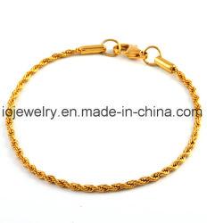 Alibabaの普及した昇進の鋼鉄宝石類ワイヤーブレスレット