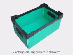 Het antistatische ESD van de Container Bescherming Gebruikte Opvouwbare Plastic Geval van de Doos van het Fruit