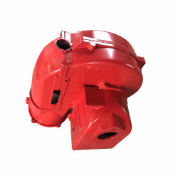 Пожарного оборудования пользовательских песок литой металлический утюг/нержавеющая сталь/углеродистой стали корпуса водяного насоса/Shell