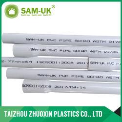 ASTM D1785 Schedule 40 Tubo de água de PVC