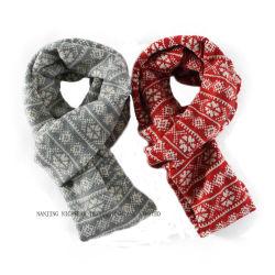 Foulard Jacquard en tricot de mode silencieux