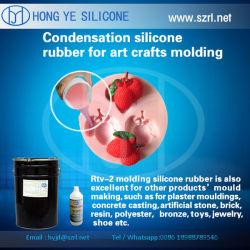 ¿Qué tipo de caucho de silicona puede ser utilizado para realizar pequeñas manualidades