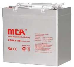 батарея геля 12V 50ah солнечная для системы UPS
