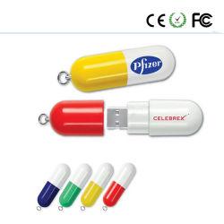 다채로운 캡슐 소형 USB 섬광 드라이브 펜 드라이브 기억 장치 디스크