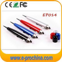 Aandrijving van de Pen van de Ballpoint USB van de Aandrijving van de Flits van de pen USB de Multifunctionele voor Gift (EM624)