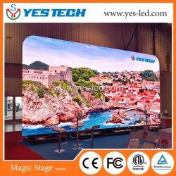フルカラーP5/P6は段階のビデオ壁のための屋外LEDスクリーンを防水する