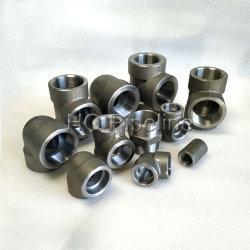 ASME B16.11/Carbono Aço Inoxidável 2000#/3000# NPT Rosca Rosqueado/soquete forjadas de solda para tubos