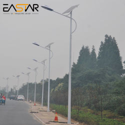 5 ans de garantie Rue lumière LED solaire pour le projet d'éclairage extérieur
