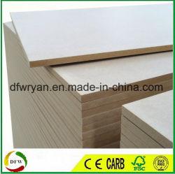 MDF di colore del Brown di memoria del legno duro (strato del MDF)