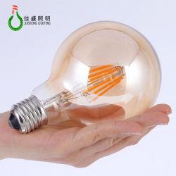 Style de base E27 E26 B22 UL Certification Energy Star de la FCC 1,5 W 3,5 W 5W 7W Ampoule à filament modulable par LED lumière G95