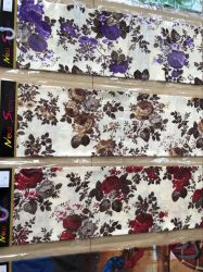 100 % polyester Tissu d'impression 3D de disperser l'impression de tissu imprimé pour drap de lit