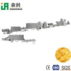 Cereais de pequeno-almoço em pequena escala a linha de processamento de flocos de milho da máquina