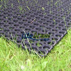 Tapis en caoutchouc anti-fatigue de drainage de l'herbe