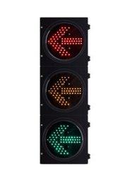 Indicatore rosso della freccia del semaforo di senso della freccia LED di verde giallo