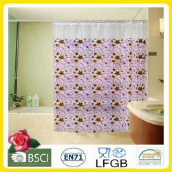 Plastic PVC / EVA Printed Shower Curtain Factory Wholesale