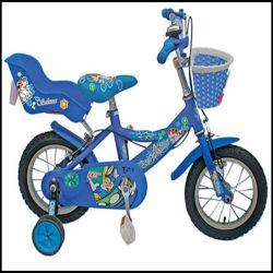 Charmant 12 Inch Kid vélo pour les enfants âgés de 3 ans les filles des véhicules vélos avec siège de poupée
