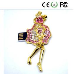 مجوهرات USB مجوهرات موازن-محرك أقراص USB محمول Pendrive