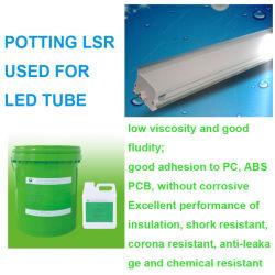 RTV Silicone adhérent d'enrobage pour lampe à LED Mpdules, cartes de circuits imprimés, composants électroniques