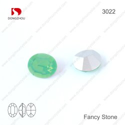 Crystal ovale opale de fantaisie de la pierre pour Accessoires bijoux
