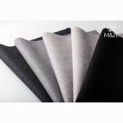 La lana y mezclas de tejido, los tejidos utilizados en la industria de prendas de vestir