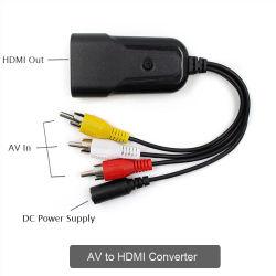 AV RCA CVBS pour convertisseur de vidéo HDMI 1080p