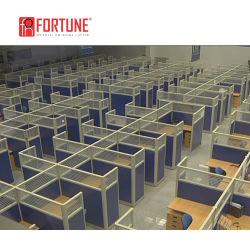 높은 벽 블루 직원 알루미늄 작업 큐비클 사무실 워크스테이션 큐비클