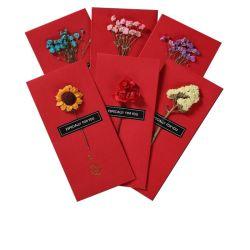 中国の結婚式および休日の赤パケット