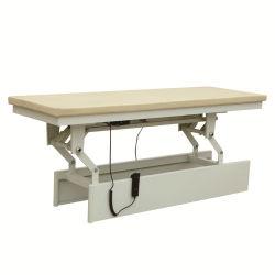 Регулируемая по высоте Низкая цена электрический массажный кабинет физиотерапии кровать