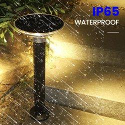 IP65 noir 3 voyant LED d'énergie solaire de la sécurité, avec des feux de construire en cellule solaire au silicium Mono-Crystalline
