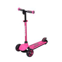 أطفال يسفور باور الأطفال كهربائيًا ثلاث عجلات بالدراجة ثلاثية سكوتر مع ضوء العجلات لأعلى
