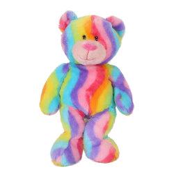 2019 Rainbow Ursinho de Pelúcia brinquedo recheadas Animal personalizada