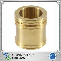 Industrie de roulement pièces en cuivre, OEM personnalisé CNC usinage haute précision pièce en laiton de Chine