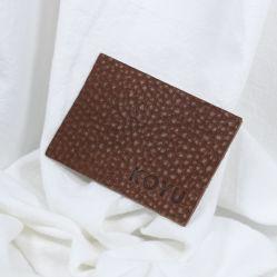 Custom Garment 3D geprägte Markenname Logo Nähen auf Jeans Etiketten Abzeichen Reparatur Naturleder Patches