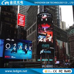 Pannello per display a LED 10000CD a colori per esterni (cartello Con Schermo LED pubblicitario P16)