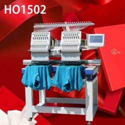 En vente ! Usine Holiauma Machine à broder 2 tête avec 15 aiguilles Cap/T-Shirt broderie