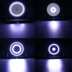 La strumentazione potente DJ della fase di 468 il PCS LED esclude intorno all'indicatore luminoso dello stroboscopio