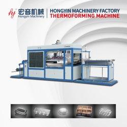 Volledig Automatische PP/PS/Pet/PVC/PLA Thermoforming/het Vacuüm die van de Blaar het Gebruik van de Machine voor de Verpakking van het Voedsel vormen
