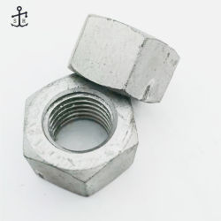 炭素鋼製ファスナ六角ナット DIN934 ダクロメット製ハードウェア民間製 中国
