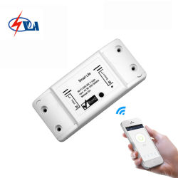 Tuyaのスマートな生命ホームスイッチWiFi制御スイッチのWiFi遠隔スイッチAlexa無線Googleのホーム