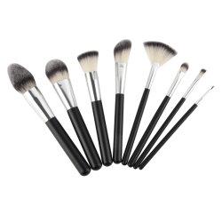8 PC maquillaje profesional Brush set, Premium Synthetic Pinceles de maquillaje en polvo de la Fundación El Kabuki colorete corrector la sombra de ojos cepillos cosméticos