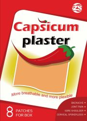 Capsicum plâtre pour traiter diverses maladies de la moelle épinière