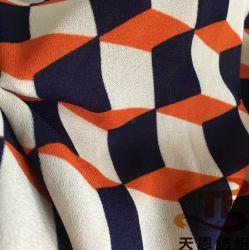 75D 100% полиэстер шифон ткань для женщин платья и летней одежды ткань