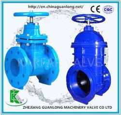 (Z45X) Siège non revêtue de caoutchouc résistant à la hausse la vanne de filtre en coin