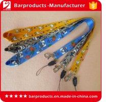 Custom imprimé Bracelet mignon vrai cordons en nylon pour les touches