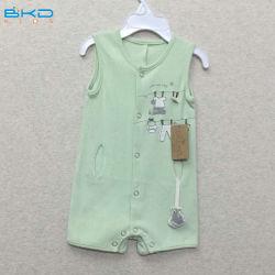 Sleeveless Baby kleidet kundenspezifischen Größen-Baby-Spielanzug
