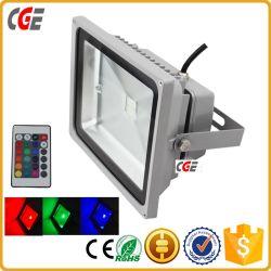 Luces LED de túnel de cambio de color estilo LED 10W/30W/50W/100W proyector RGB proyector LED de iluminación exterior