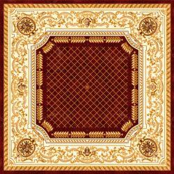 Alfombra de patrón de diseño de mosaico de suelos de cerámica de 1200*1200mm