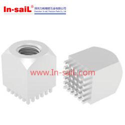 Nickel überzogen, verzinnte Messingterminals für Schaltkarte-Verbinder-Block